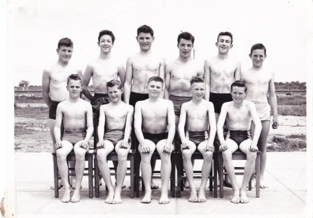 1954 Swim Team